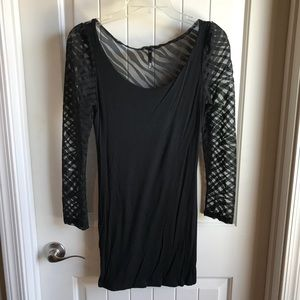 Love Culture Long Sleeve Zebra Dress